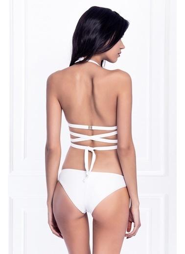 Esotte Beachwear Bikini Beyaz